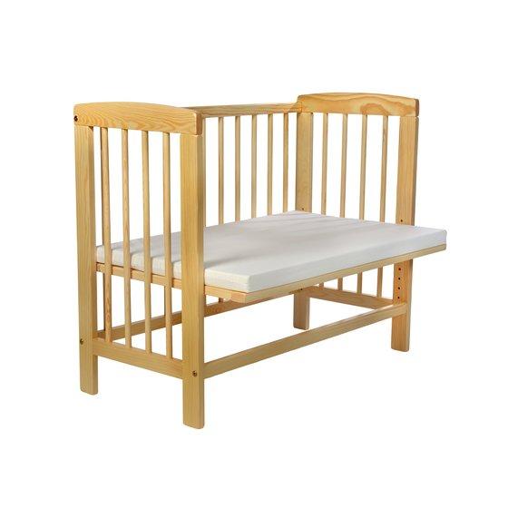 kidsmax beistellbett alexander 120x60 unbehandelt. Black Bedroom Furniture Sets. Home Design Ideas